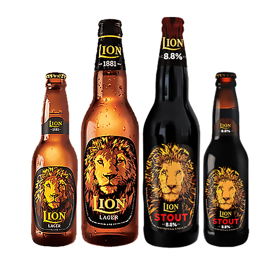Lion Lager & Stout