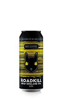 Roadkill New England IPA by Mad Squirrel
