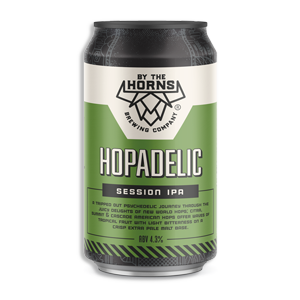 Hopadelic Session IPA from By The Horns Brewery
