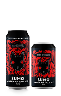 Sumo - American Pale Ale by Mad Squirrel