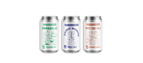 By The Horns cans