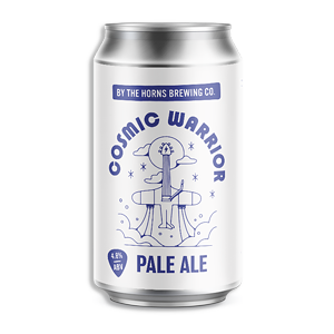 Cosmic Warrior Pale Ale from By The Horns Brewery