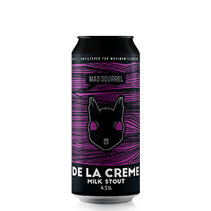 De La Creme Milk Stout by Mad Squirrel