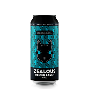 Zealous - Pilsner Lager by Mad Squirrel