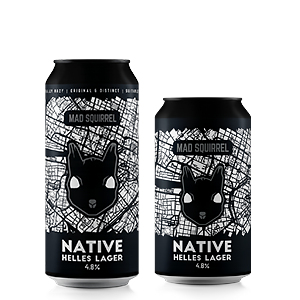 Native Helles Lager by Mad Squirrel